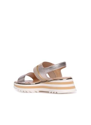 Divarese 5024272 Kadın Sandalet Altın